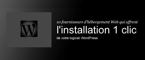 10 fournisseurs d'hébergement de sites web WordPress